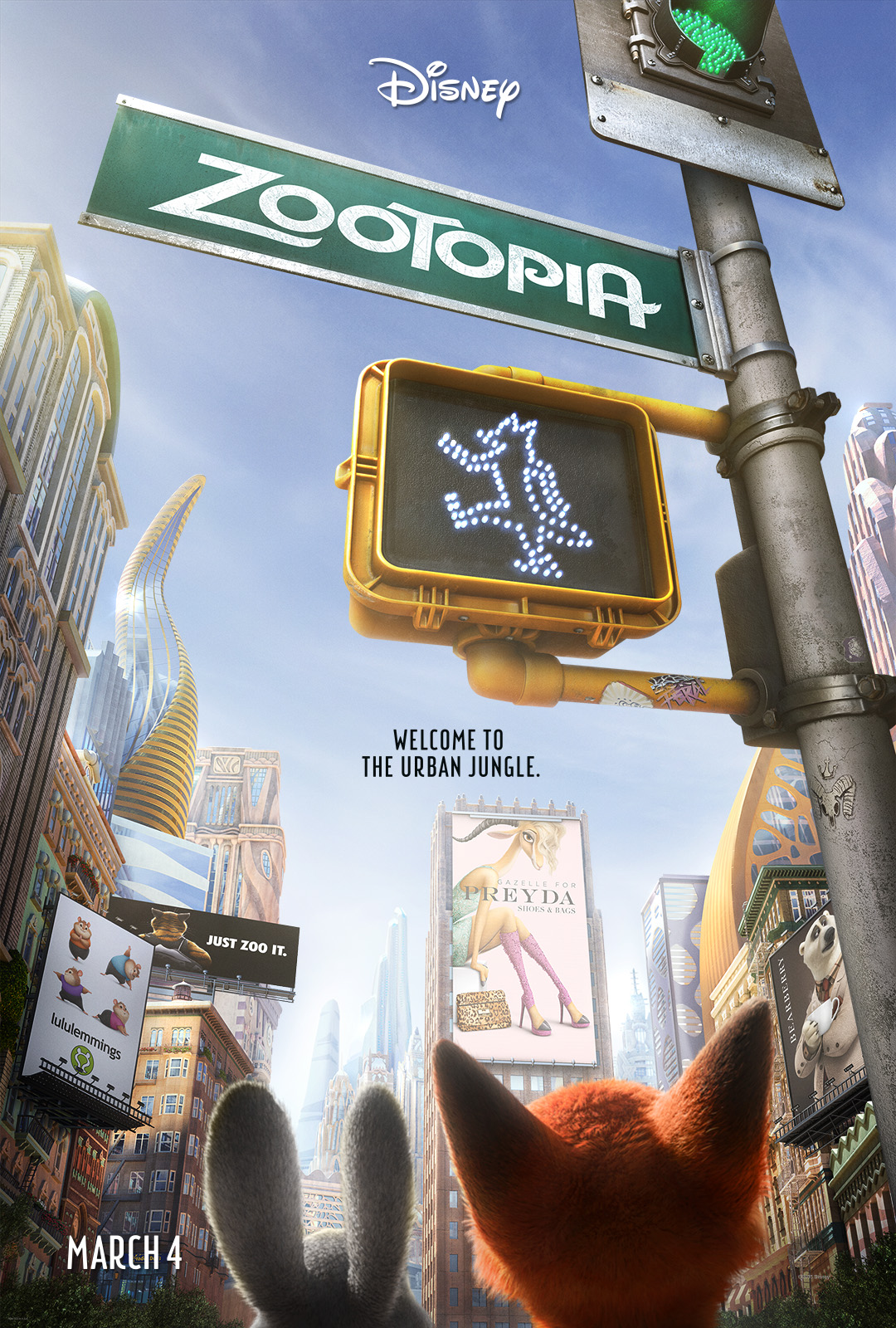 #Zootopia Newest Trailer and Shakira's New Song