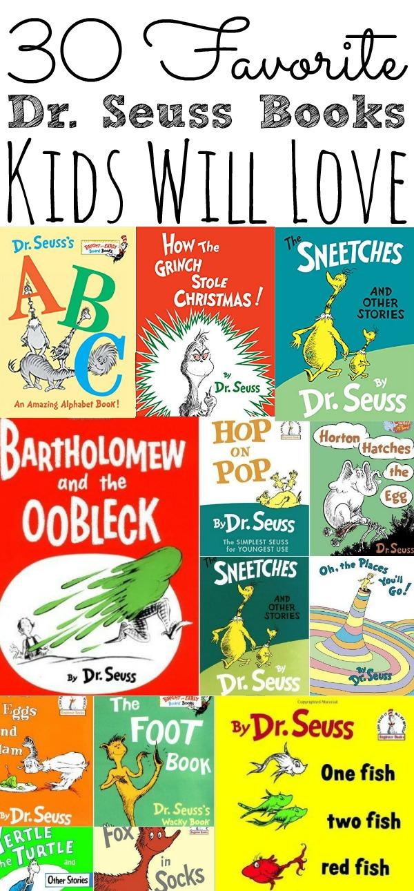Favorite Dr. Seuss Books For Kids