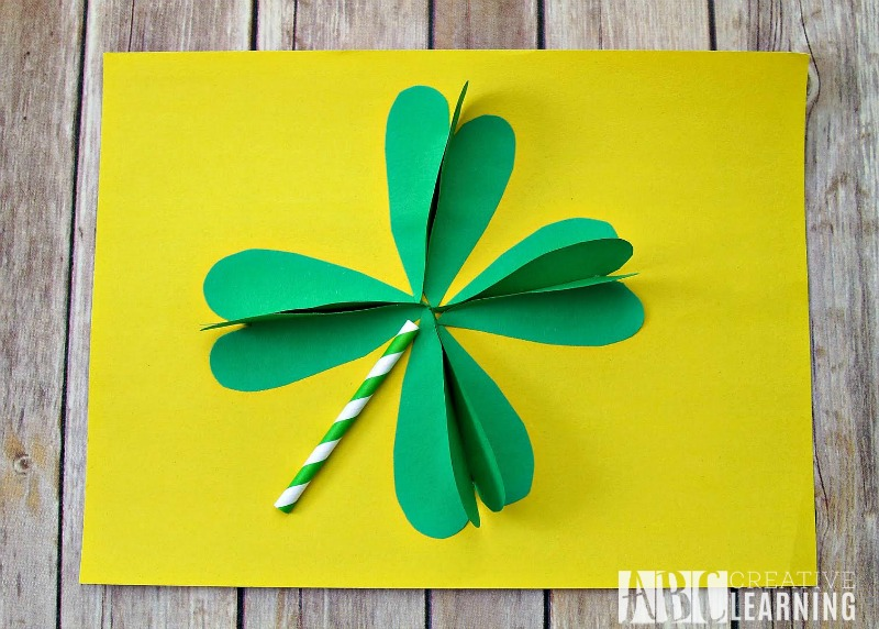 3D Shamrock Craft for Kids