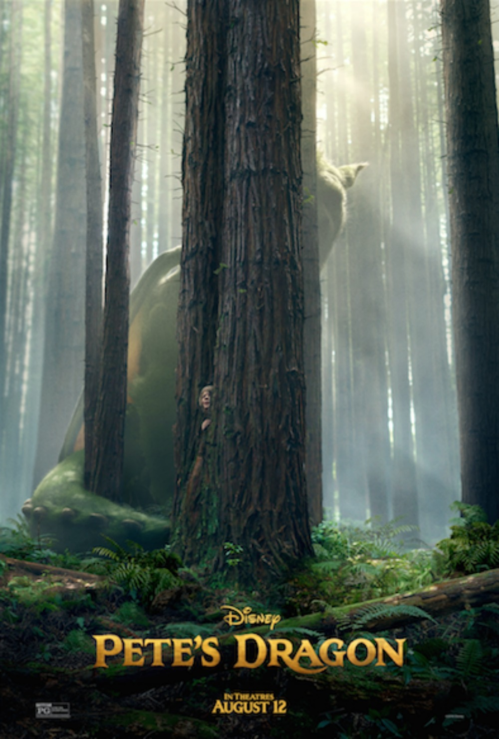 Disney's Pete's Dragon Poster and Trailer