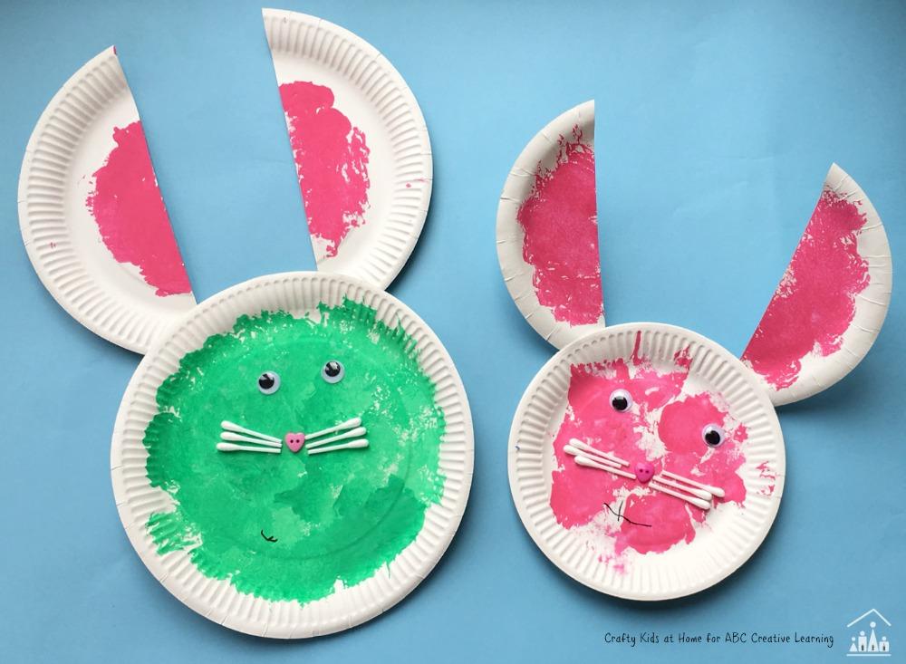 spring bunny craft 3
