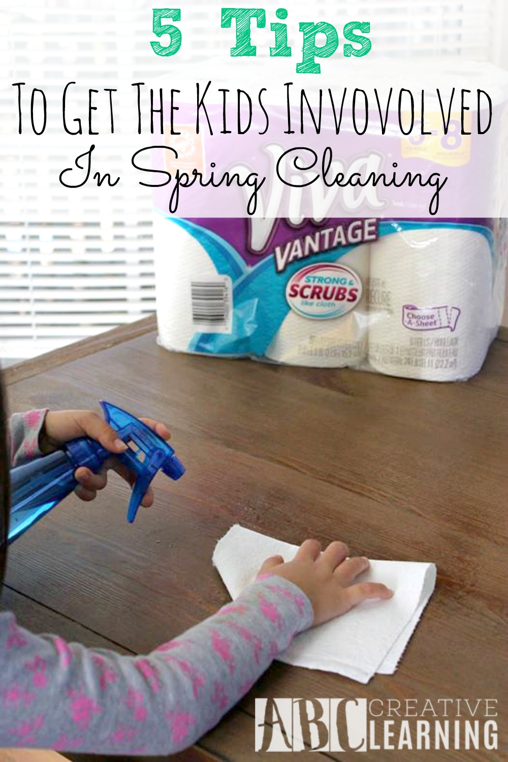 5 Tips To Get The Kids Involved In Spring Cleaning