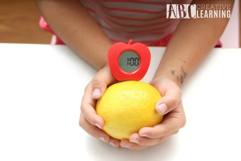 Lemon Battery StemBox For Girls Clock