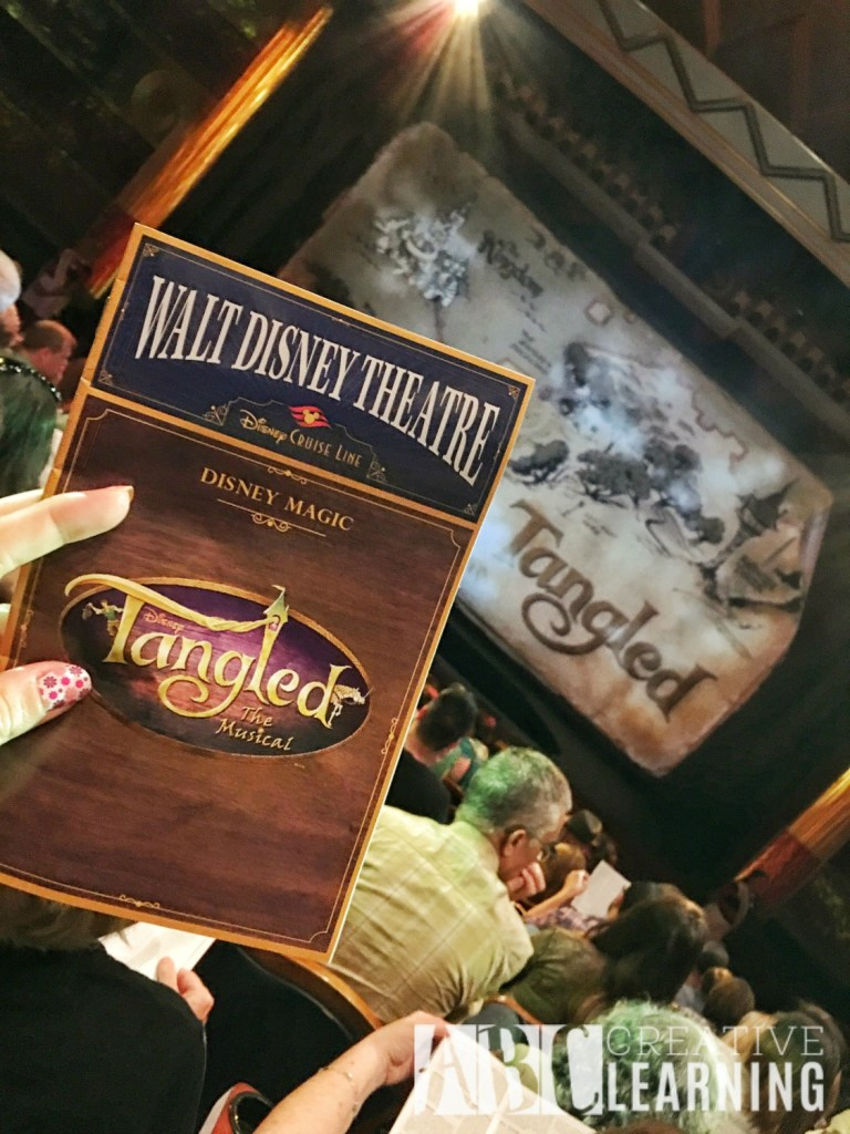 Tangled The Musical Aboard The Disney Magic bill