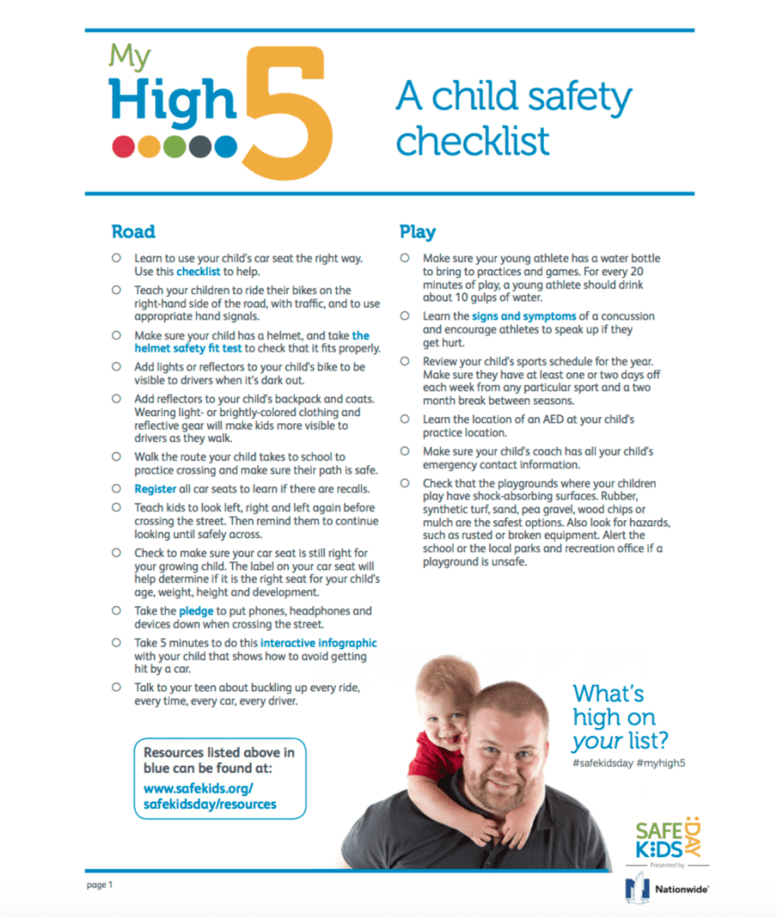 Make Safe Happen Everyday At Home With Safe Kids Day