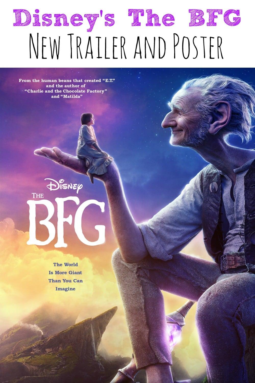 Disney's The BFG New Poster and Trailer #TheBFG