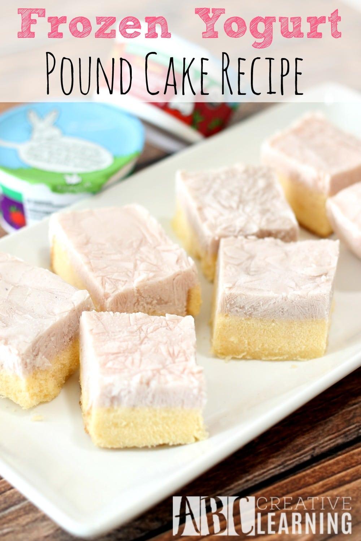 Frozen Yogurt Pound Cake Recipe + Paypal Giveaway