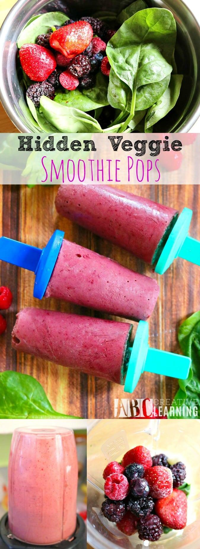 Veggie Smoothie Pops Recipe