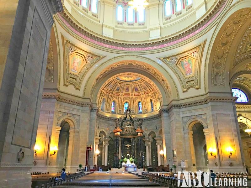 Minneapolis Saint Paul Bus Tour Cathedral Inside