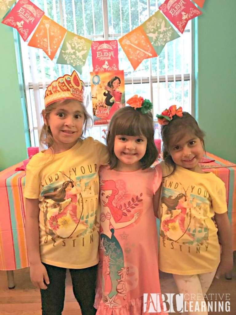 Disney's Elena of Avalor Royal Party Celebration Girls