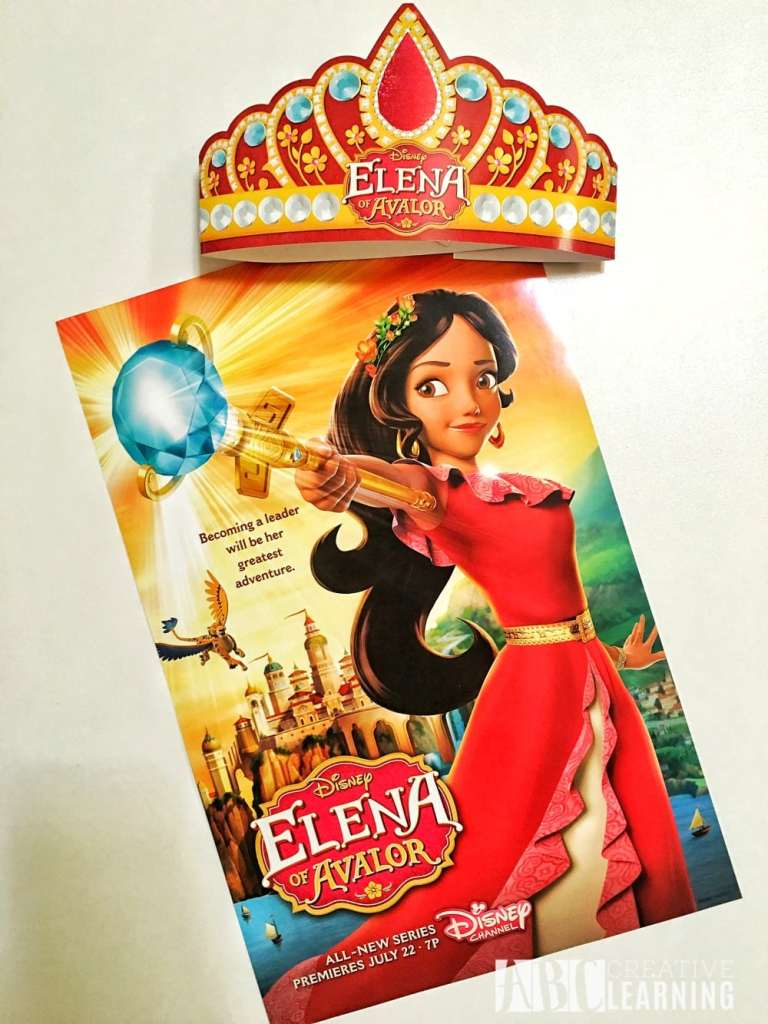 Disney's Elena of Avalor Royal Party Celebration Poster