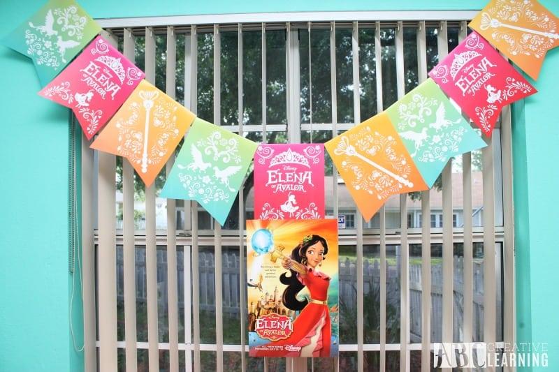 Disney's Elena of Avalor Royal Party Celebration banner