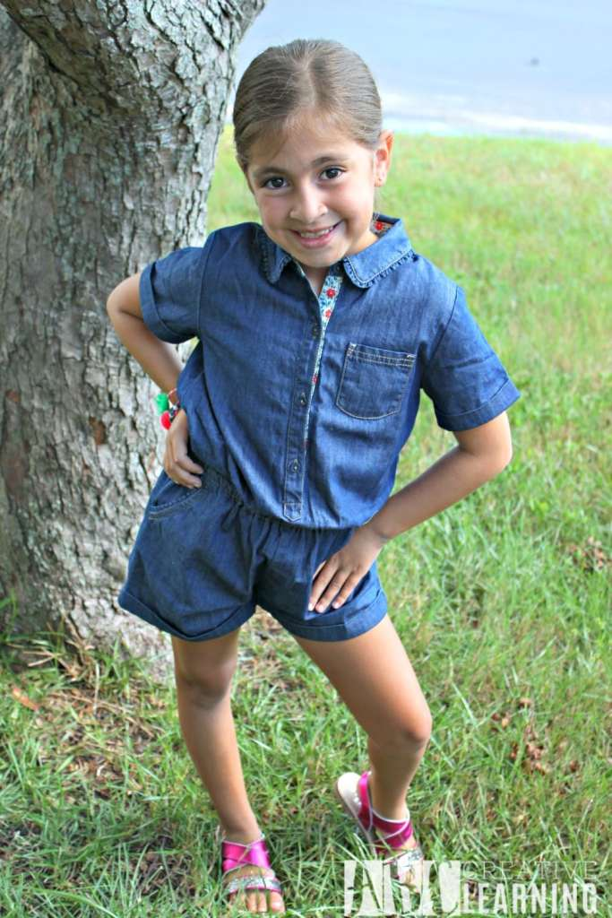 Expressing Personality Through Fashion For Back To School Romper