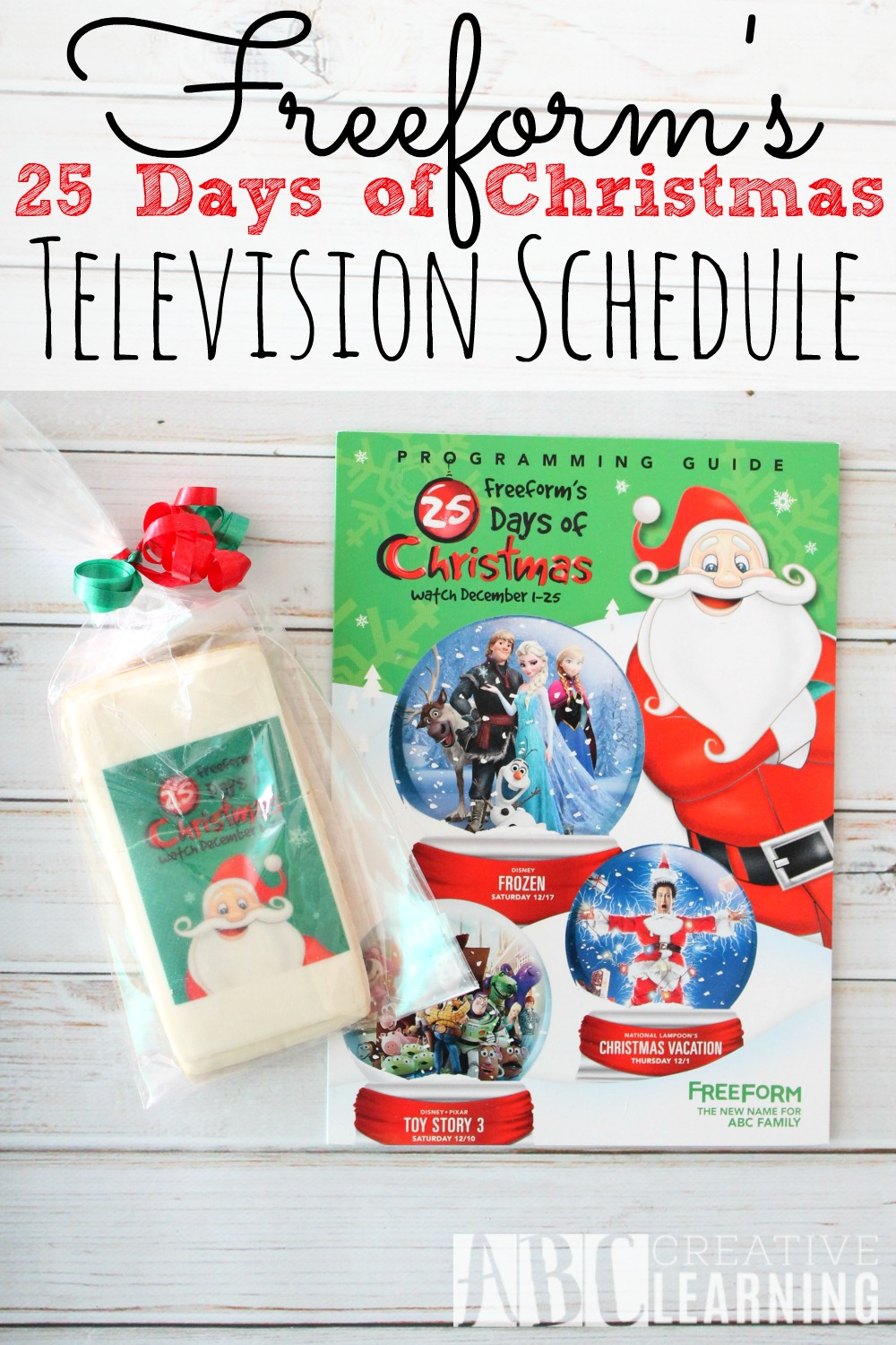 freeforms 25 days of christmas schedule 25daysofchristmas