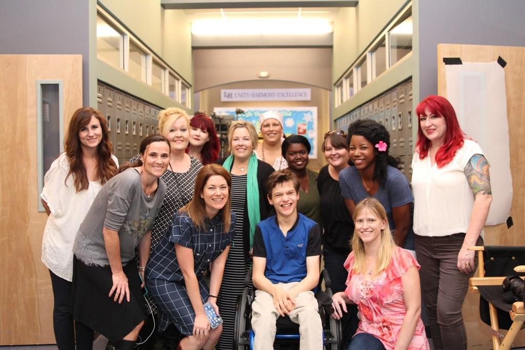 Speechless Set Visit and Cast Interviews #ABCTVEvent Micah