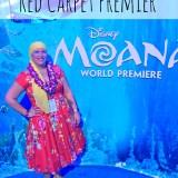 Moana Event Red Carpet Premier