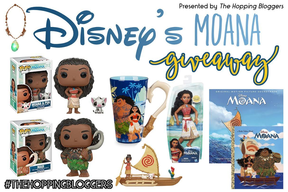 MOANA Prize Pack Giveaway
