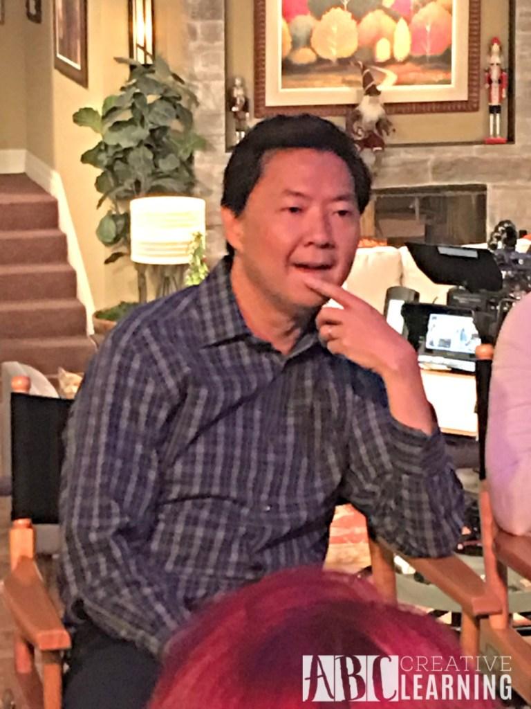 Dr. Ken Set Visit and Cast Interviews #ABCTVEvent #DrKen Ken Jeong