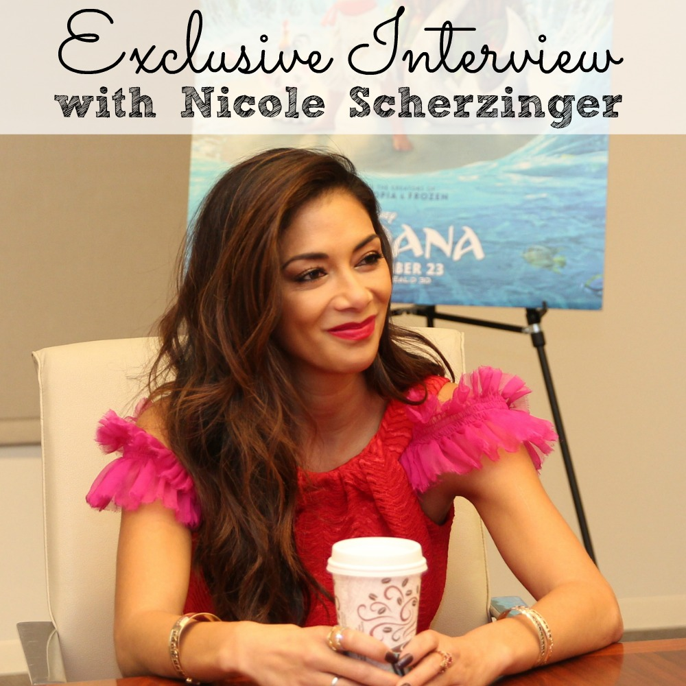 Exclusive Interviews Pictures More: Exclusive Interview Nicole Scherzinger #MoanaEvent