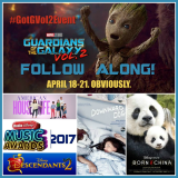 Follow My Galactic Adventure To the Guardians of the Galaxy Vol 2 Event