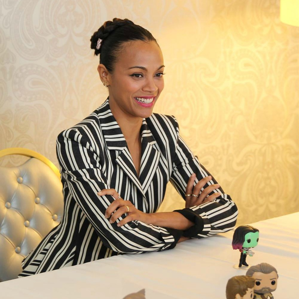Exclusive Interviews Pictures More: Exclusive Interview With Zoe Saldana On Guardians Of The