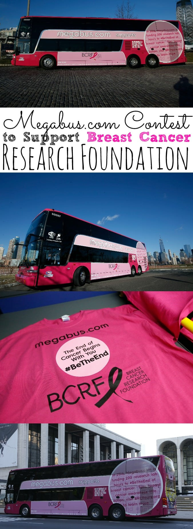 Megabus.com Contest To Support Breast Cancer Research Foundation - simplytodaylife.com