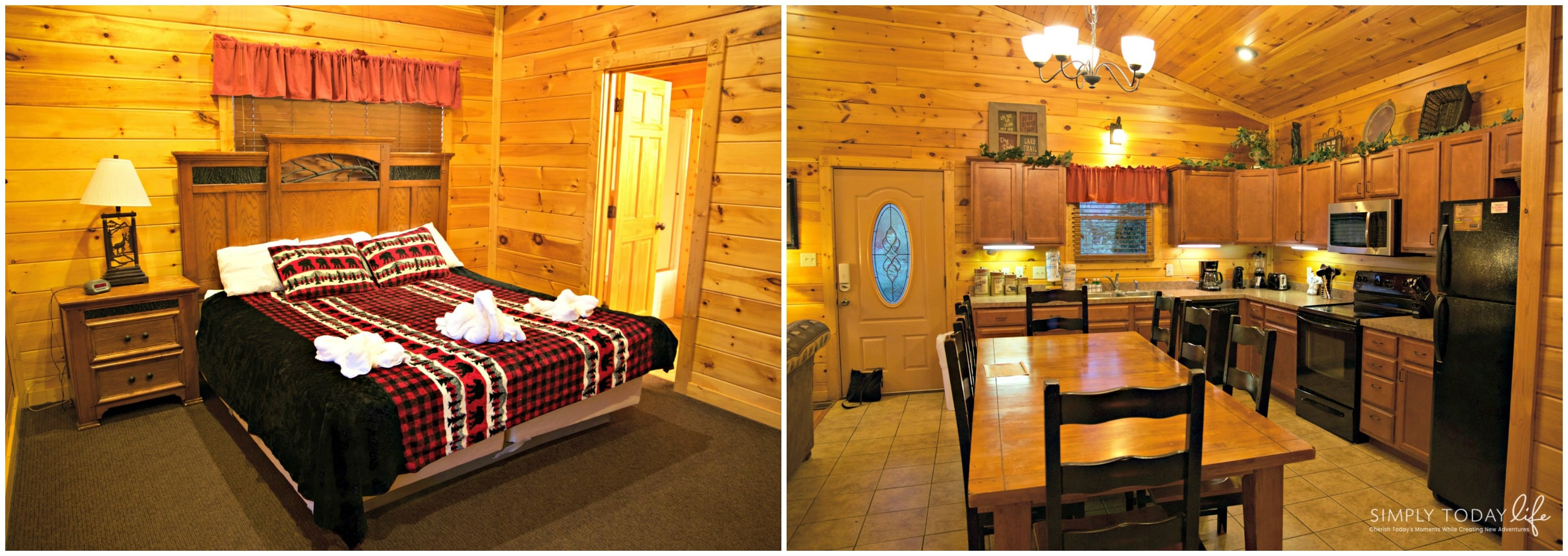 Best Cabins In Gatlinburg TN - Room Tour - simplytodaylife.com