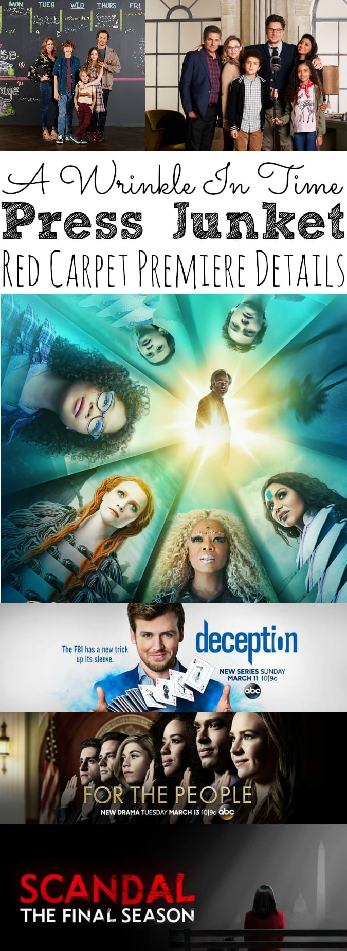 Finding The Tesseract In A Wrinkle In Time Movie Press Junket - simplytodaylife.com