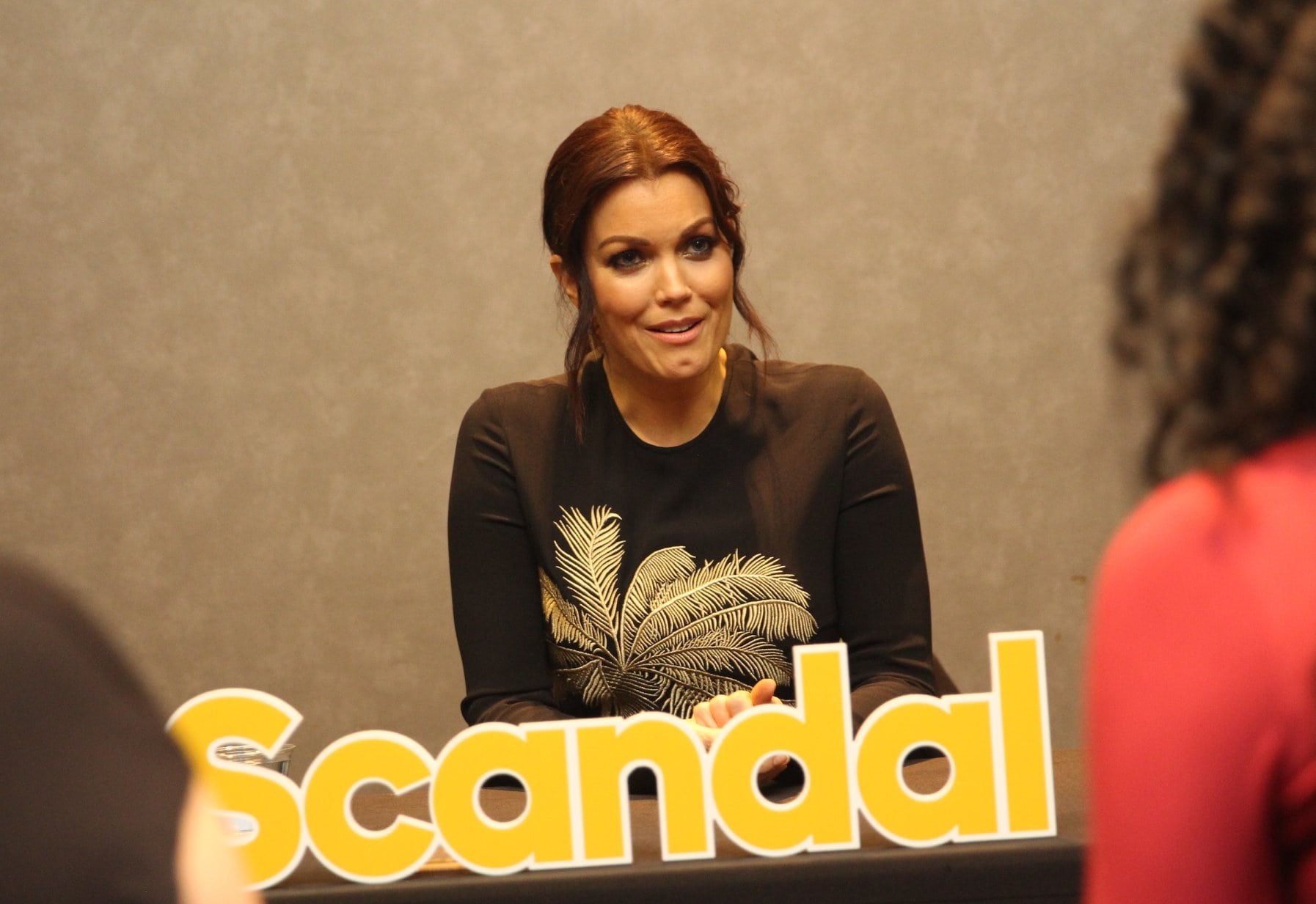 Interview with Bellamy Young about Scandal - simplytodaylife.com