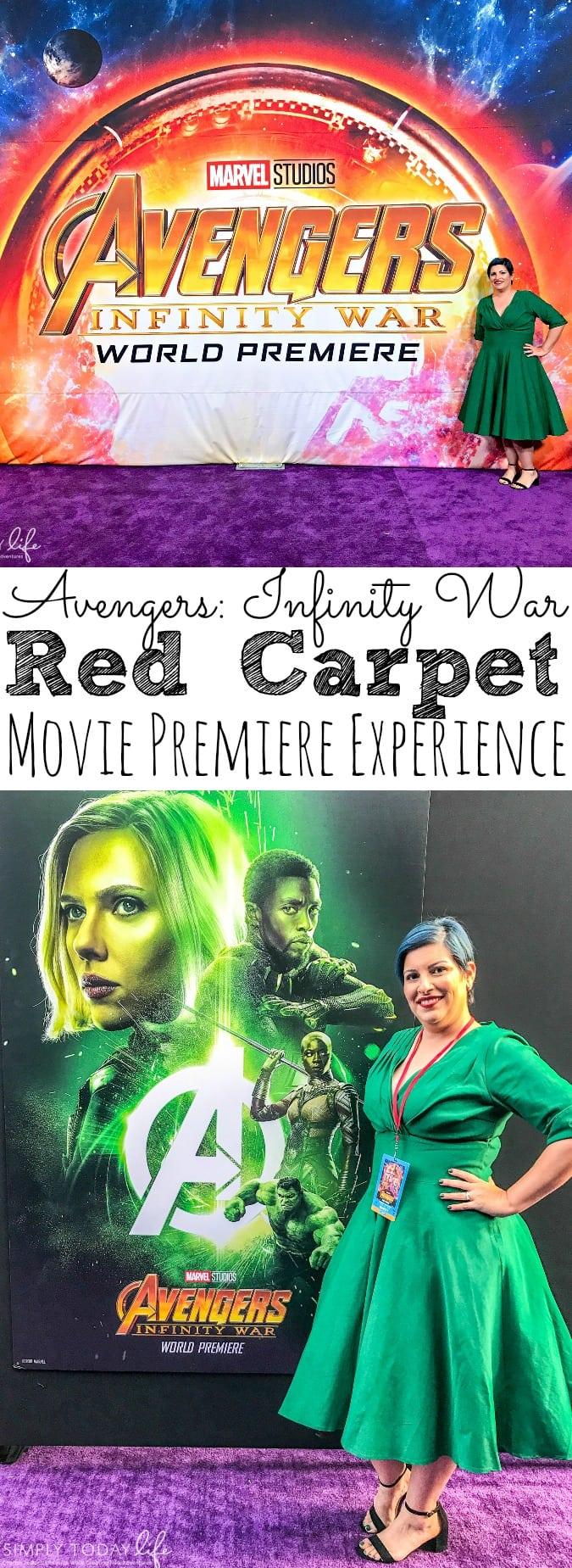 Avengers Infinity War Movie Premiere