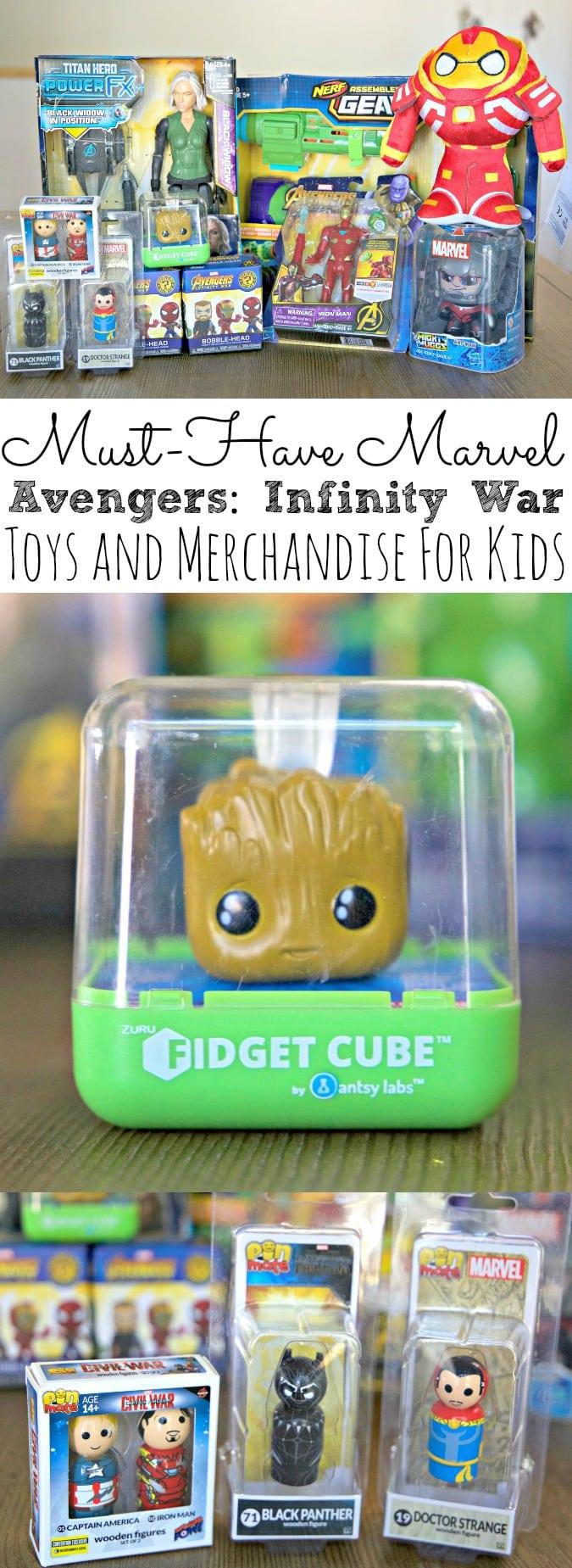 Avengers Infinity War Toys For Kids