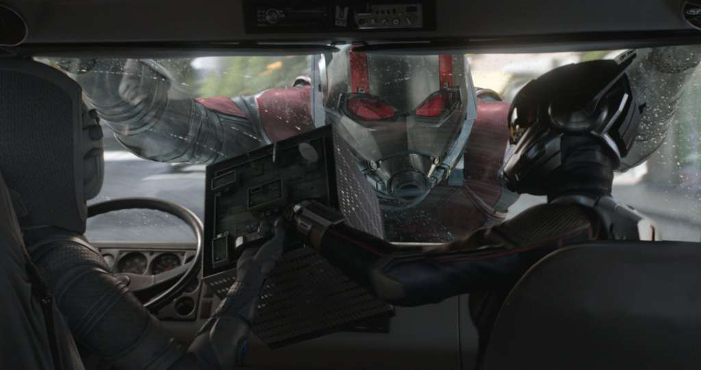 Action Scenes in Ant-Man and the Wasp