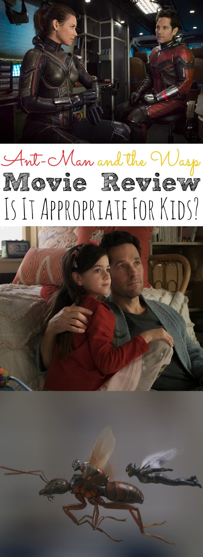 Ant-Man and the Wasp Movie Review | Is It Appropriate For Kids?