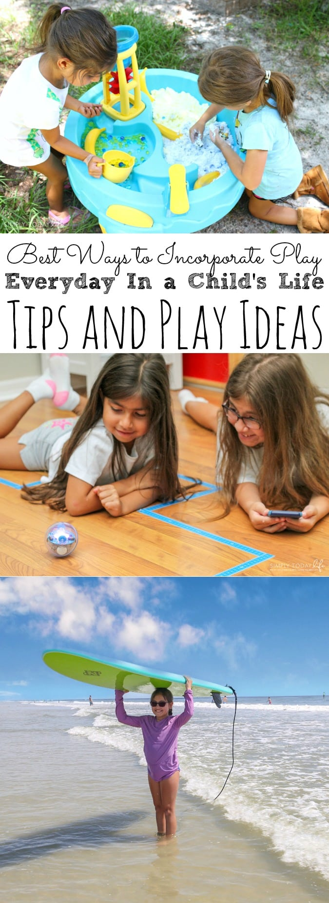 Best Ways To Incorporate Play Every Day In Your Child's Life | Tips and Play Ideas