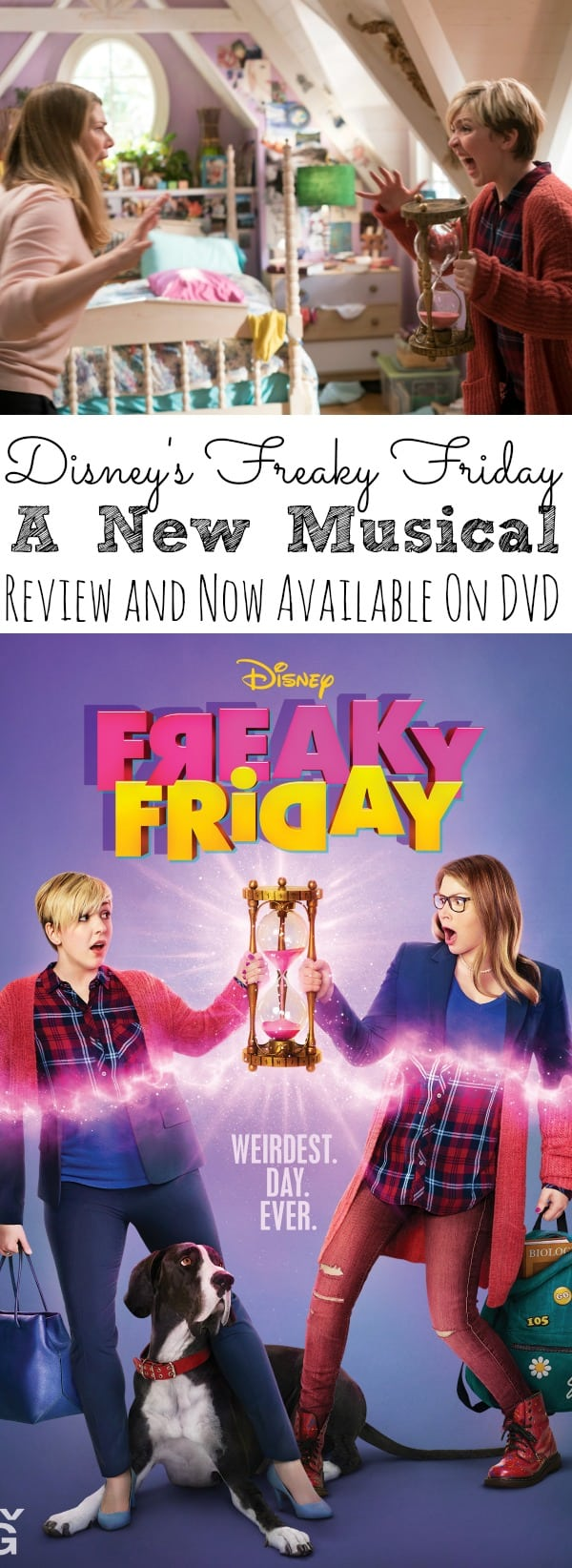 Freaky Friday_ A New Musical Now On DVD - simplytodaylife.com
