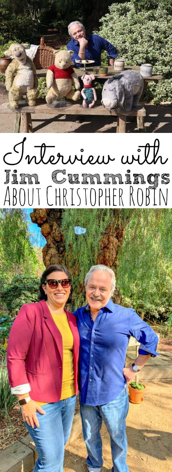Jim Cummings Interview Christopher Robin