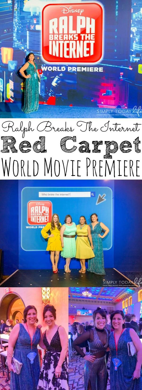 Ralph Breaks the Internet Red Carpet World Movie Premiere - simplytodaylife.com