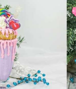 Sugar Plum Fairy Freakshake