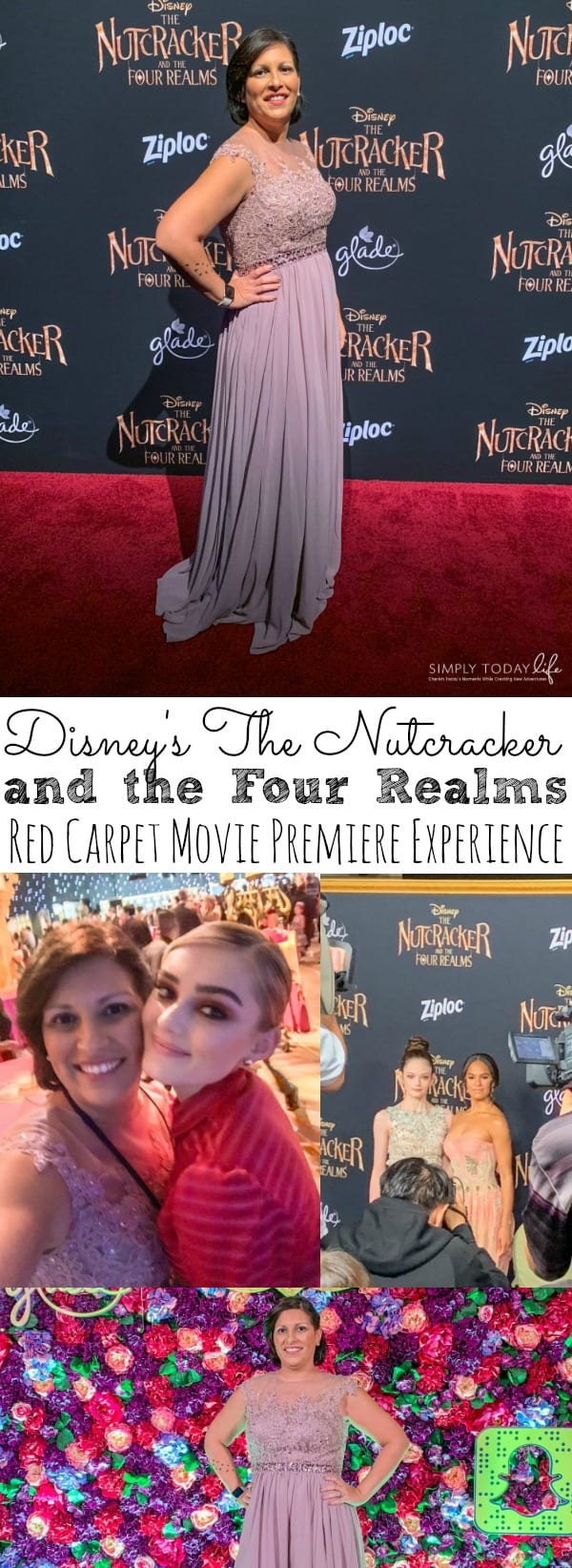 The Nutcracker and the Four Realms Red Carpet Movie Premiere Experience