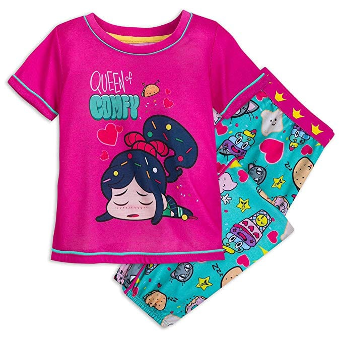 Wreck it Ralph Disney Vanellope von Schweetz Pajama Set for Girls