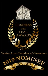2019 Venice Area Chamber of Commerce Business of the Year Nominee
