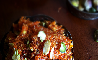 Gajar ka Halwa (carrot pudding), a super yum and super quick method
