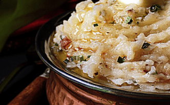 Garlicky Creamy Mashed Potatoes