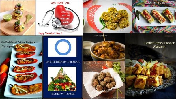 imageGrilled Spicy Paneer Skewers - Diabetes Friendly Thursdays