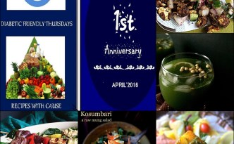 Diabetes Friendly Thursdays 1st Anniversary Round Up