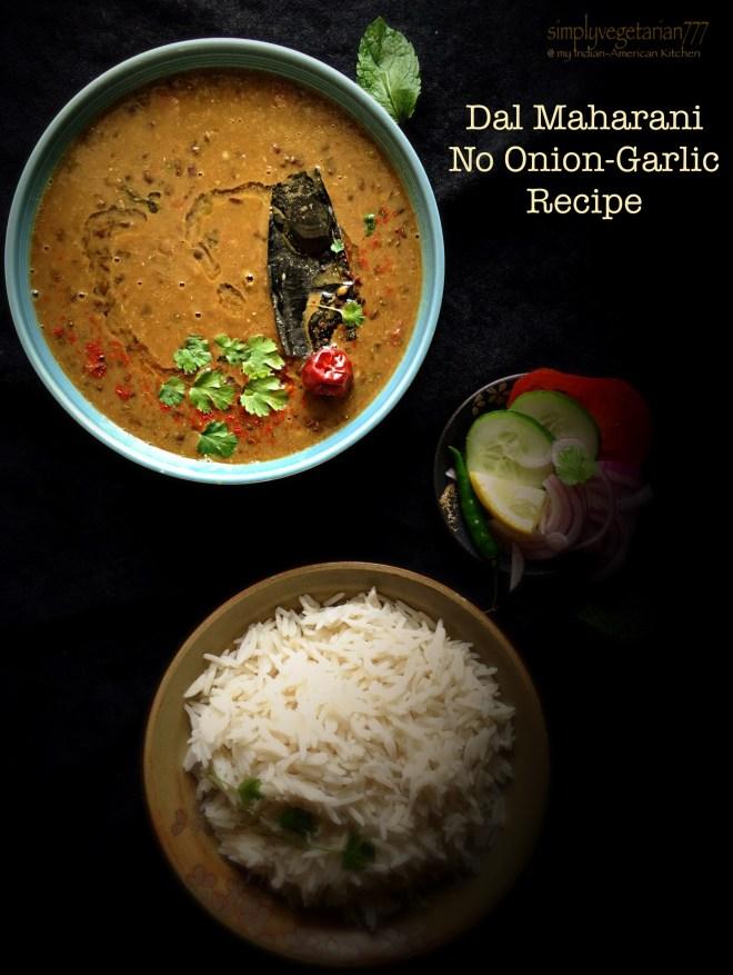 Dal Maharani - No Onion-Garlic Recipe
