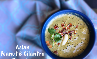 Asian Peanut & Cilantro Dressing