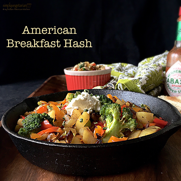 American breakfast hash perfect vegetarian breakfast american breakfast hash forumfinder Images