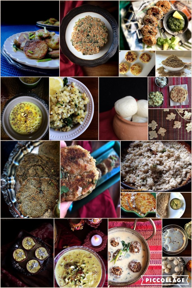 Navratri Fasting Recipes' Compilation