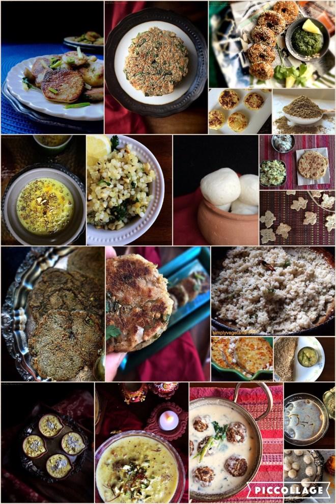 Navratri Fasting Recipes' Compilation